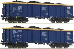 321-76086 2-tlg. Set: Offene Güterwagen,