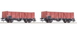 321-76107 Set: 2-tlg. Offene Güterwagen,