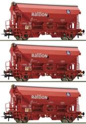 321-76175 Set: 3-tlg. Schwenkdachwagen,