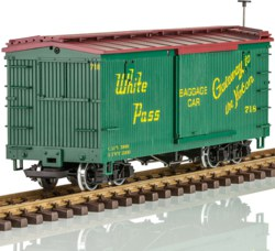 323-L48675 WP&Y RR Boxcar Lehmann LGB, Sp