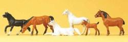 324-10150 Pferde Preiser Figuren, Spur H