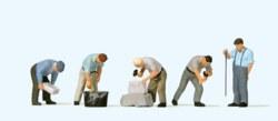 324-10669 Arbeit an der Bruchsteinmauer