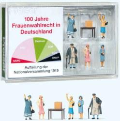 324-13402 100 Jahre Frauenwahlrecht in D