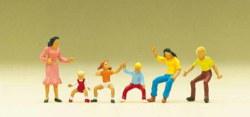 324-24652 Figuren zum Karussell Preiser