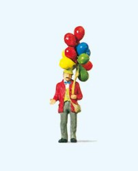 324-29000 Ballonverkäufer Preiser Figure