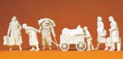 324-64007 Flüchtlinge Preiser Figuren, S