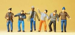 324-68211 Arbeiter Preiser Figuren, Maßs