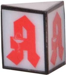 325-1375 H0 Reklameschild Apotheke LED