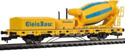 325-2625 Niederbordwagen mit Betonmisch