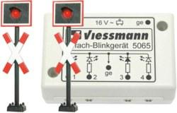 325-5060 Andreaskreuze mit Blinkelektro