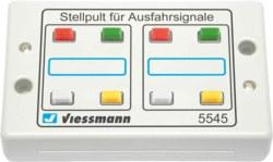 325-5545 Tasten-Stellpult 4-begriffig V