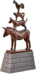 326-48287 Bremer Stadtmusikanten Statue