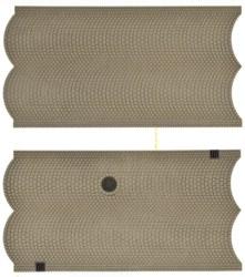326-48840 Straßenplatte Kopfsteinpflaste