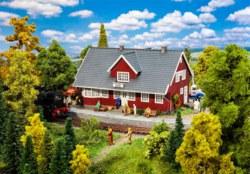 328-110160 Schwedischer Bahnhof