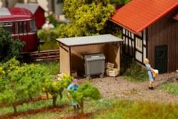 328-180300 Mülltonnenunterstand mit Werts