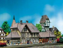 328-212111 Bahnhof Schwarzburg Faller Mod