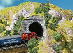 328-282934 Tunnelportal-Set Faller Landsc