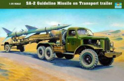 328-750204 SA-2 Guideline Missile auf Tra