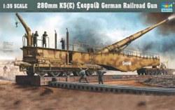328-750207 Eisenbahngeschütz Leopold 280m