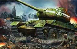 328-750902 Panzer T-34/85 Modell 1944 Fab