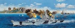 328-753706 Kriegsschiff USS Iowa BB-61 Tr
