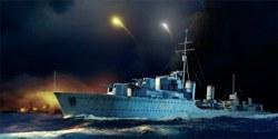 328-755332 HMS Zulu Zerstörer 1941 Trumpe