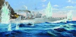 328-755353 Kriegsschiff HMS Cornwall Trum