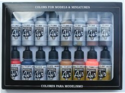 328-771181 Metall-Effekte, Farbset 16x17m