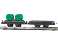 329-12205 Plattform- u. Fasswagen für di