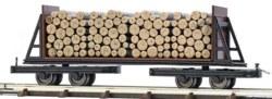 329-12247 Flachwagen mit Holzladung