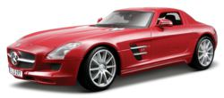 342-536196S Mercedes SLS AMG Coupe silber