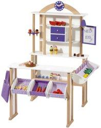 410-4749 Holz Kaufladen mit Gefrierthek