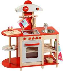 410-48152 Holz Kinderspielküche mit Cera
