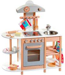 410-4815 Holz Kinderspielküche mit Cera