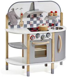 410-4818 Spielküche aus Holz inkl. 5 tl