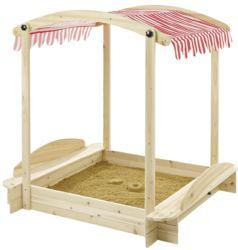 410-5411 Moderner Sandkasten mit Dach