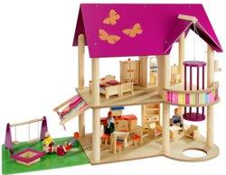 410-70041 Holz Puppenhaus-Set Howa, ab 3