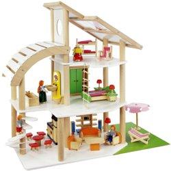 410-7014 Holz Puppelhaus-Stadtvilla How