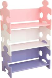 412-14415 Bücherregal im Puzzeldesign -