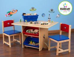 412-26912 Tisch- und 2 Stühle-Set Sternc