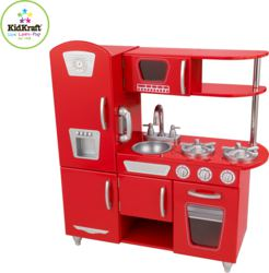 412-53173 Red Vintage Kitchen KidKraft,