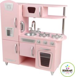 412-53179 Retro Küche, rosa KidKraft, Sp