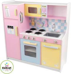 412-53181 Große Küche in Pastellfarben K