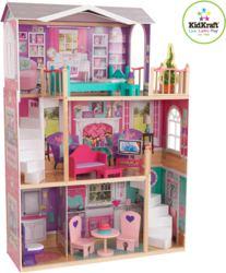 412-65830 Elegantes Puppenhaus für 46 cm