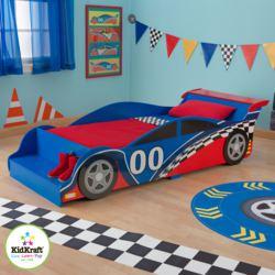 412-76038 Kleinkindbett Rennwagen KidKra