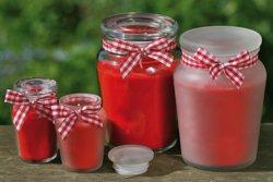 551-7027000 Duftkerzentopf Erdbeere Wachs