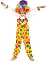 552-90374CL116 Clown Kostüm Gr. 116 - 122 Cep