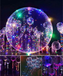 552-98765 LED Ballon Magic XL , mit 30 b