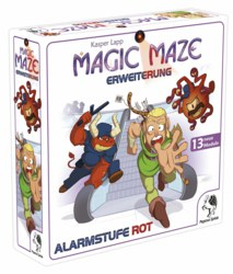 600-57201G Magic Maze Alarmstufe Rot Erwe