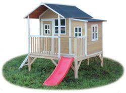 702-50041100 EXIT Loft 350 Natur Spielhaus,